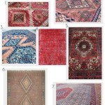 A roundup of Vintage Rugs