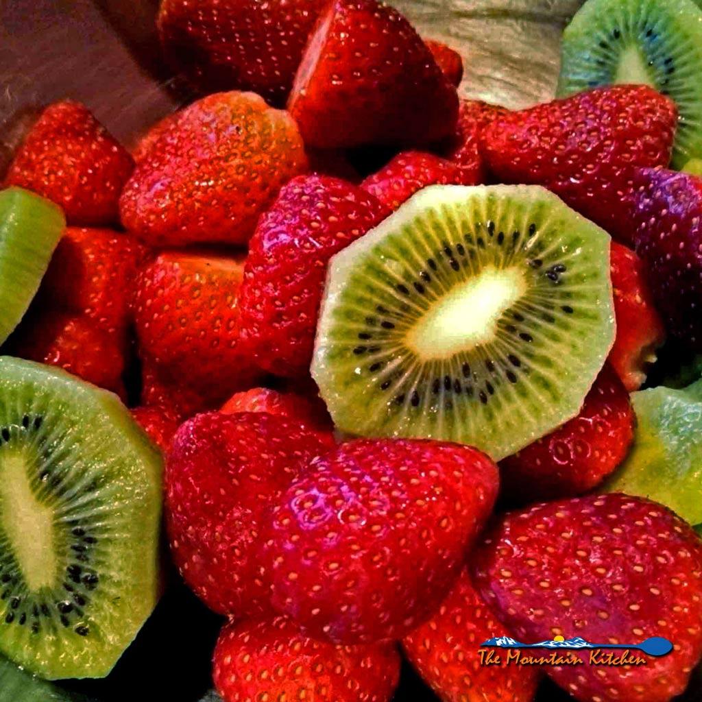 Strawberry Kiwi Smoothies