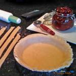 This is the perfect pie crust! It's a flaky and delicious pie crust made with chilled butter and shortening comes out perfect every time. Let's make pie! | TheMountainKtichen.com