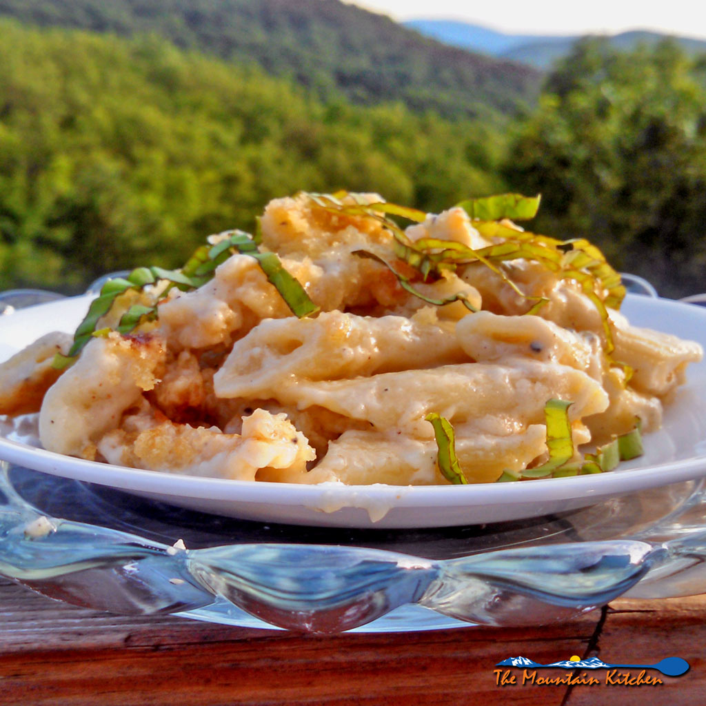 Adult Mac and Cheese {An Ina Garten Inspired Recipe