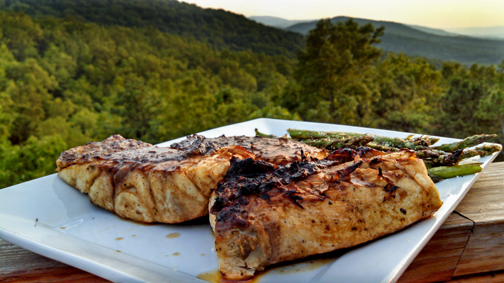 Made with only three ingredients, Al's Stolen Fish Sauce is made with a mixture of butter, Worcestershire, lemon juice. Use it for basting grilled fish!   TheMountainKitchen.com