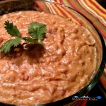 These traditional refried beans are even better than restaurant style beans. They are creamy, smoky and seasoned perfectly. A great Mexican side dish!