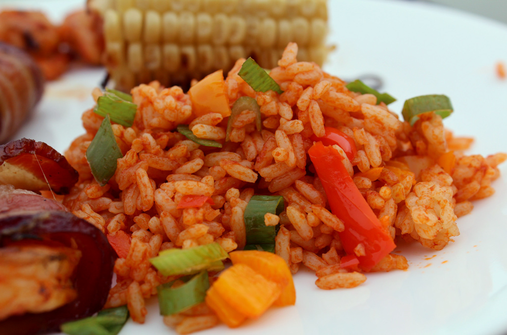 Cajun Rice | Easy to make, this Cajun Rice is the perfect accompaniment to any of your Cajun dishes. | TheMountainKitchen.com