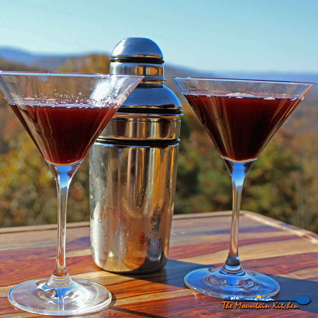 Peanut Butter and Jelly Martini Cocktail Recipe