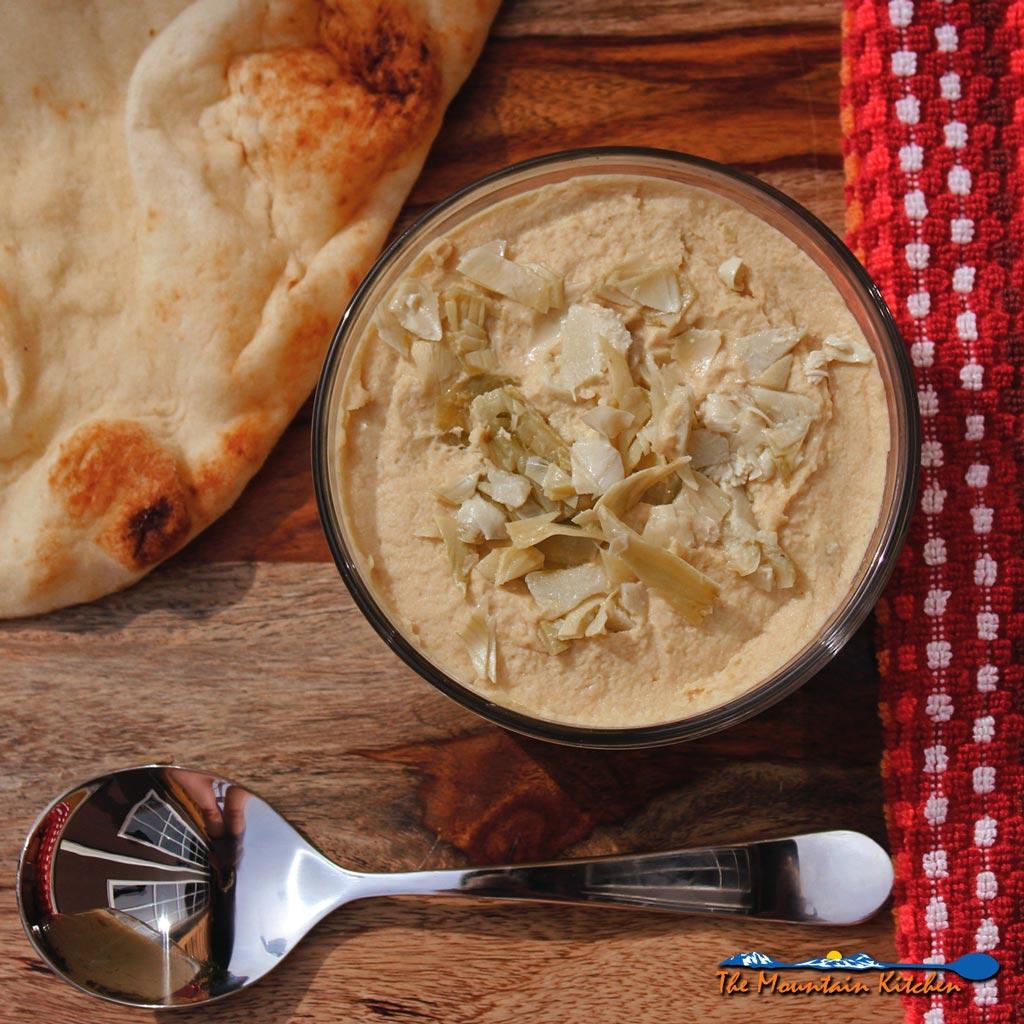 Marinated Artichoke Hummus
