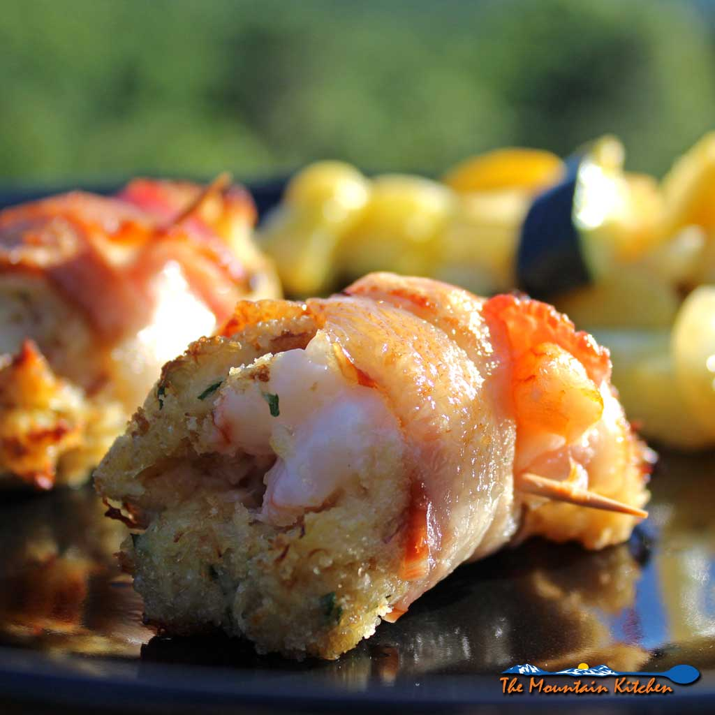 Bacon Wrapped Crab Stuffed Shrimp