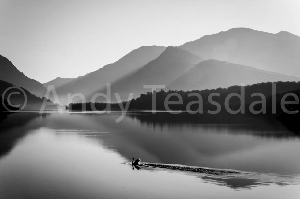 Llyn Padarn in morning light