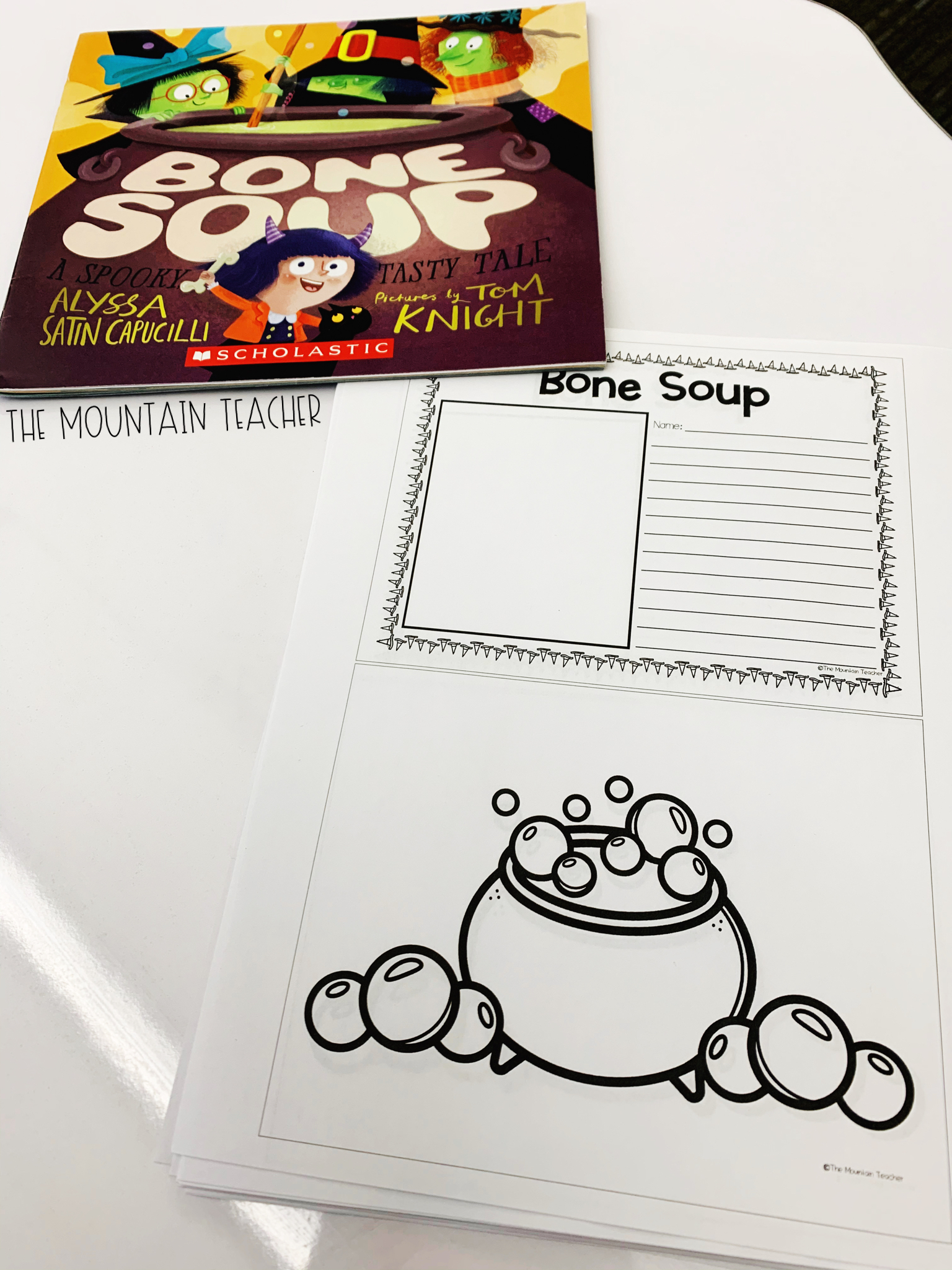 Halloween Read Alouds for Any Classroom: Bone Soup Activities