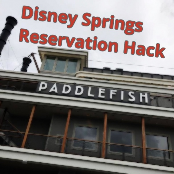 Disney Springs Dinner Reservations