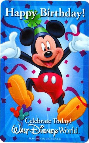 Celebrating A Birthday At Walt Disney World