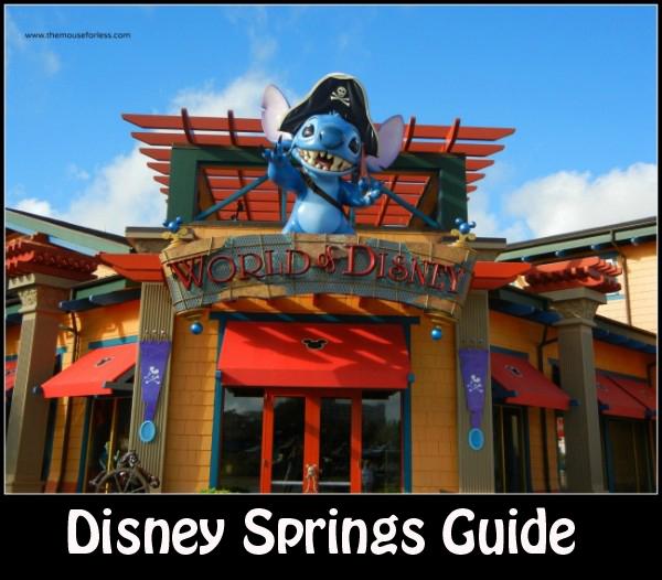 Disney Theme Park Restaurants