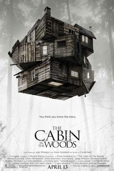 Download The Cabin in the Woods (2011) Dual Audio {Hindi-English} 480p [300MB] || 720p [800MB]