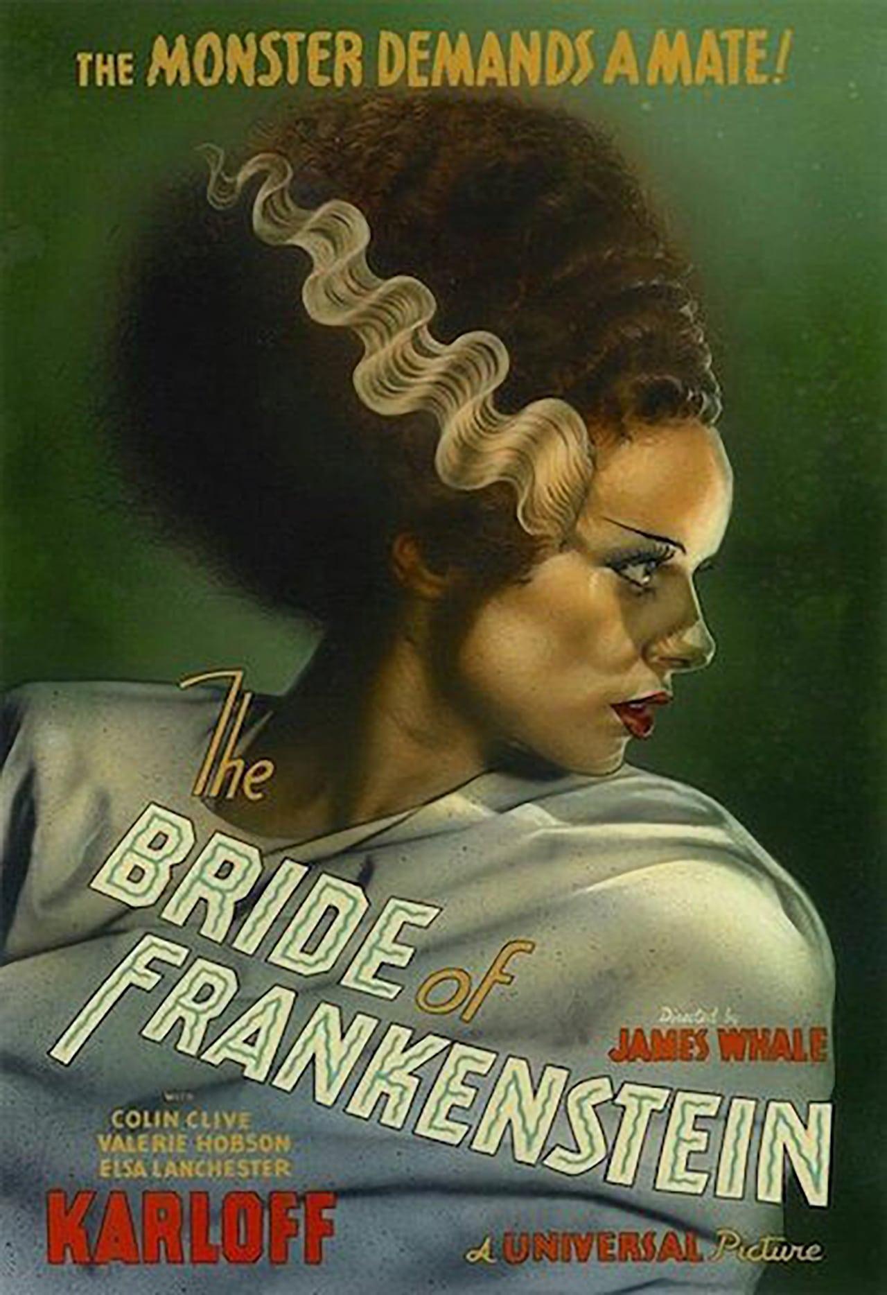 bride of frankenstein 1935 posters