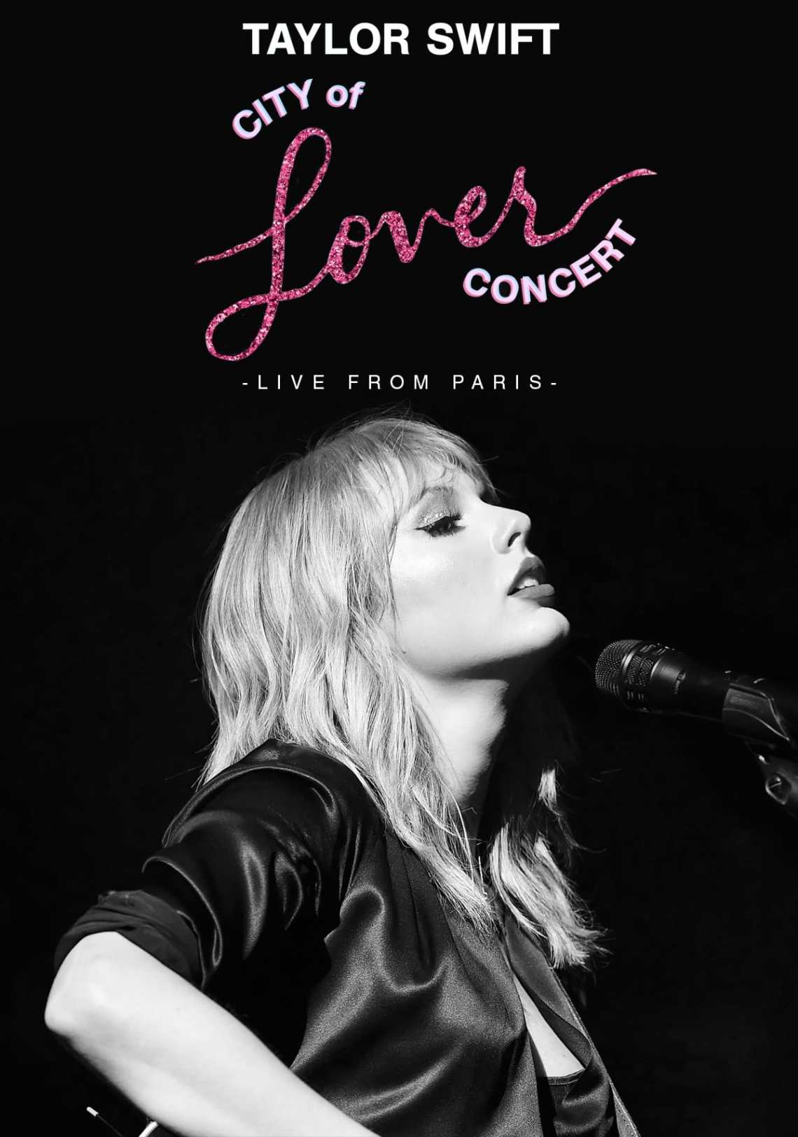 Download Taylor Swift City of Lover Concert (2020) - Posters — The ...