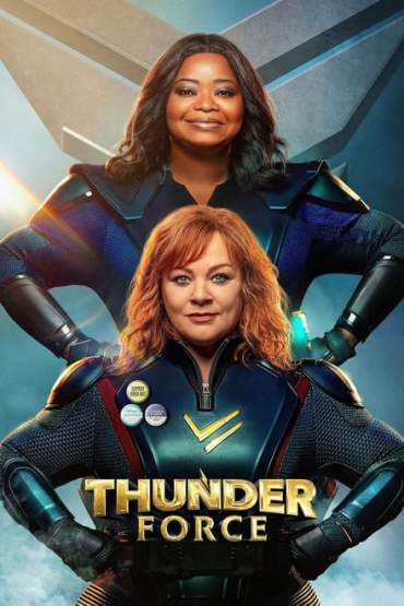Download Thunder Force (2021) Dual Audio {Hindi-English} WeB-DL HD 480p [300MB] || 720p [1GB] || 1080p [2.2GB]