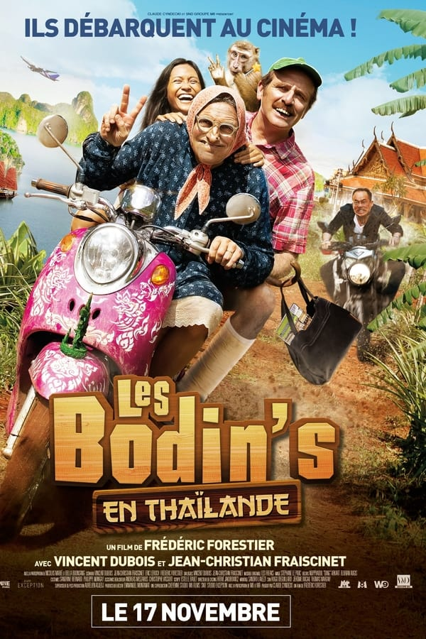 Les Bodin's en Thaïlande