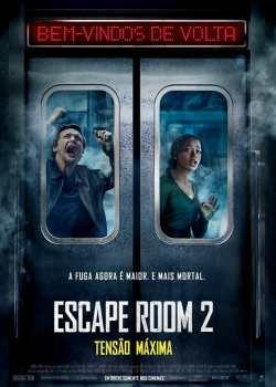 Escape Room 2: Tensão Máxima Torrent – CAMRip 720p Dublado (2021)