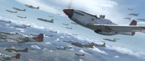 Red Tails Movie Dogfight planes