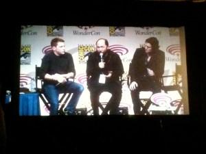 Abraham Lincoln: Vampire Hunter panel at Wonder-Con 2012