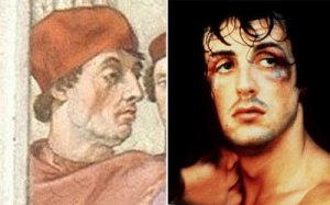 Stallone in a 16th Century painting