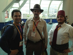 Heavy Indiana Jones and Ironically Skinny Sullah