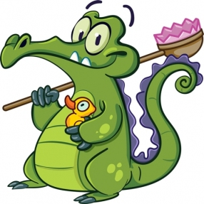 "Swampy the Alligator from ""Where's My Water?"""