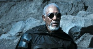 Morgan Freeman in Oblivion
