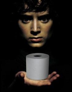 Frodo & Toliet paper