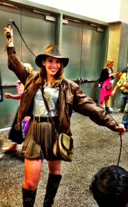 Indiana Jones girl