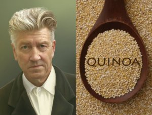 David Lynch makes quinoa
