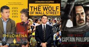 Philomena, Captain Phillips, Wolf of Wall Street