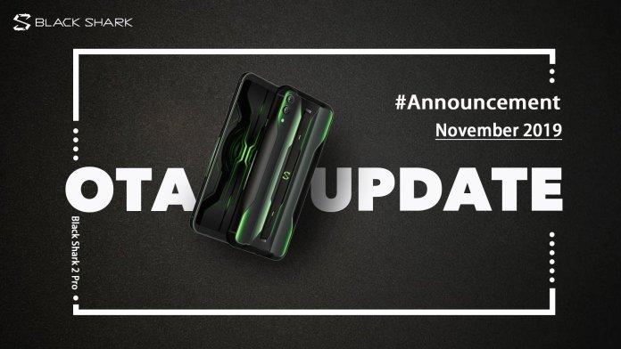 Black Shark 2 Pro OTA Update