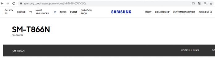 Samsung Galaxy Tab S6 5G SM-T866N