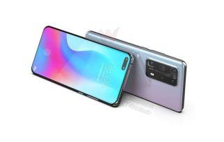 Huawei P40 Pro new render
