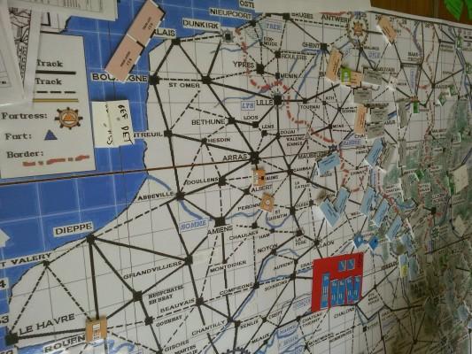 Turn 2  Umpire Map
