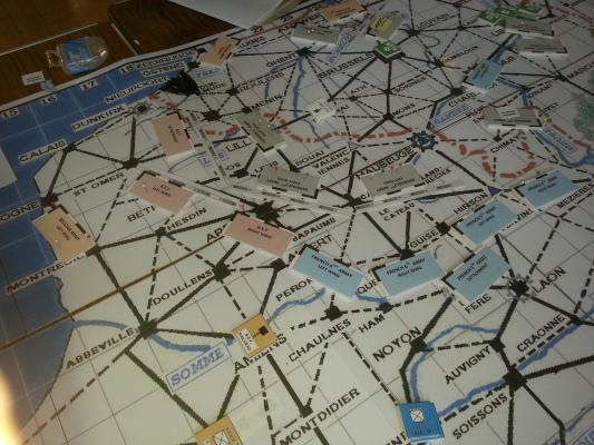 Iron Dice Umpire map at 14:04 (Turn 7)