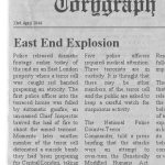 East End Explosions