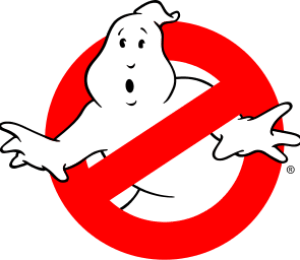 "Logo used by the ""Ghostbusters"" in t..."