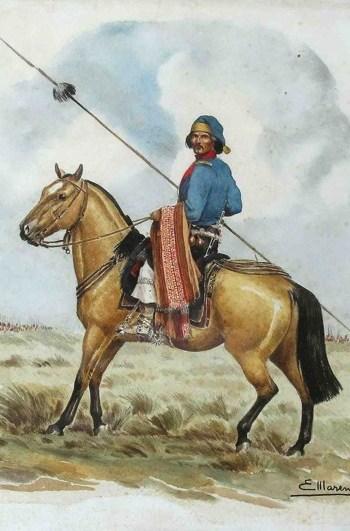 An Argentine Lancer, picture credit LRGAF