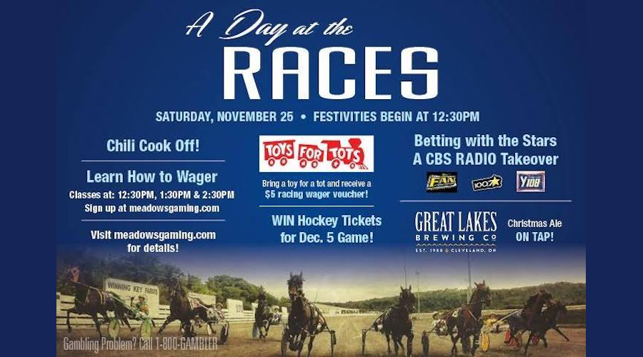 Day At The Races set for November 25