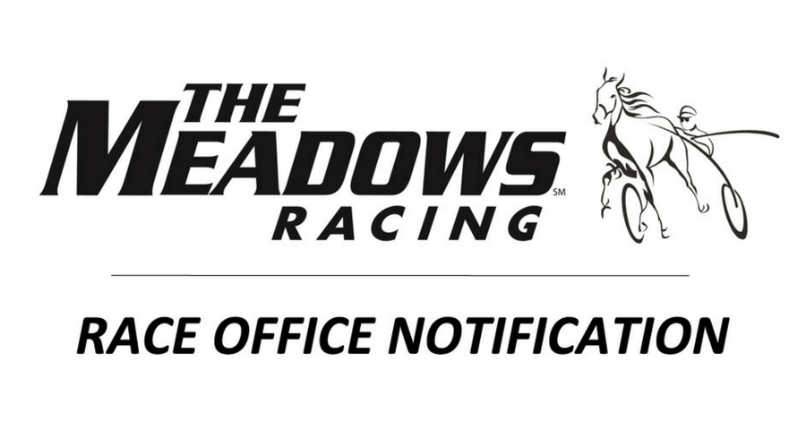 NOTICE:  Track opening and qualifiers
