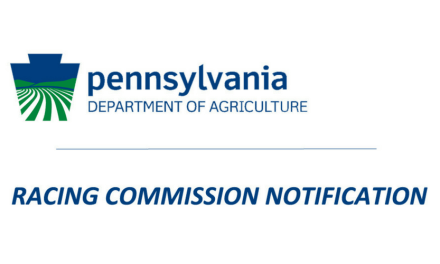 SHRC Announces new fee structure for PA Fair Stakes