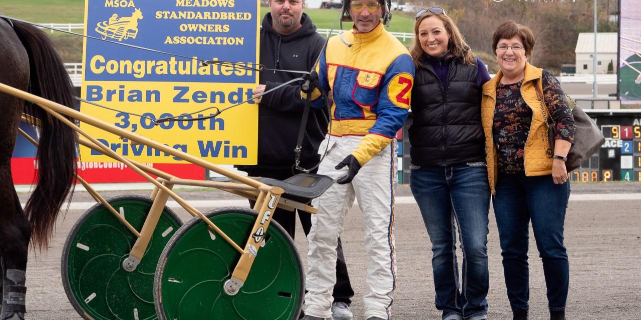 Brian Zendt notches career win #3000