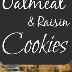 Yummy Oatmeal and raisin cookies just like mama used to make