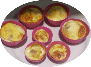 Bacon and egg breakfast bites