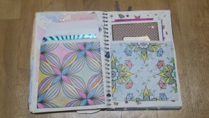 Card Pouches - Easy Scrapbook Background Ideas