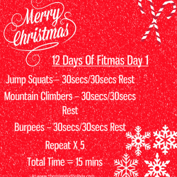 Fitmas Day 1