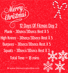Fitmas Day 2