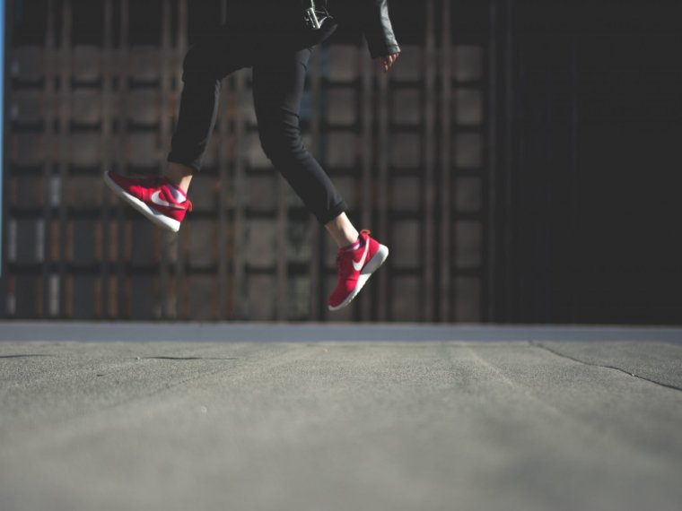 jumping feet - plyometrics feature