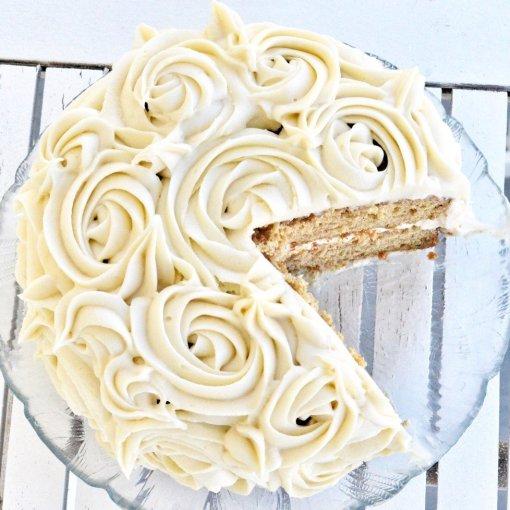 Carrot Cake gluten free, dairy free by Joy Food Sunshine